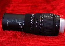 Sigma 70-300mm DG Macro Zoom Lens Nikon D40 D60 D3000 D3300 D5000 D5200 D5500 +