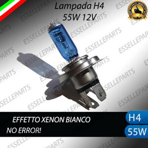 LAMPADA H4 EFFETTO XENON PER HONDA GL 1100 GOLD WING 1980-1983 BIANCO