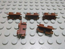 Lego 5 Scharnier Oberteile 1x2 altbraun  3938  Set 4491 7119