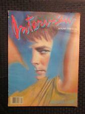 1988 Jan INTERVIEW Andy Warhol Magazine FN- 5.5 Michael J Fox