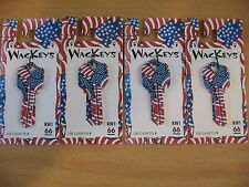 Wackeys Blank House Key KW1 66 New American Flag Red White & Blue Quantity = 4