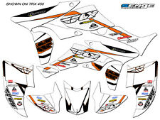 TRX250R TRX 250R 250 R GRAPHICS KIT ATV QUAD WHEELER STICKERS DECALS DECO SENGE
