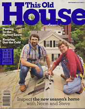 THIS OLD HOUSE MAGAZINE SEPTEMBER/OCTOBER 1995 *INSPECT THE NEW SEASON'S HOME*