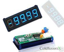 4-1/2 Blue LED DC 100A Digital Current AMP Panel Meter