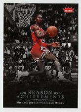 Michael Jordan 2007 Fleer Season Achievement 44 Points Official Basketball Card