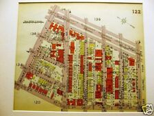 Brooklyn Map 1929 Boro Park Ocean Pkwy 18th Ave. Matted