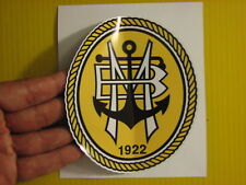 "BEST PRICE! LOT OF 10 SOCCER DECAL / STICKER SC BEIRA MAR PORTUGAL  5"" X 4.5"""