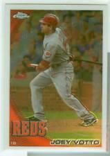 Joey Votto Cincinnati Reds 2010 Topps Chrome Card