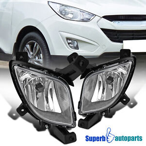 For 2010-2015 Hyundai Tucson Bumper Driving Fog Lights Replacement w/ Switch