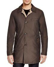 Moorer Murray Reversible Coat Brown Beige Italian Size 54 $782 E6114