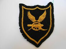 airborne artillery  ?  winged cannon   vintage cloth patch