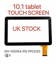 """Black Touch screen Digitizer 10,1"""" inch MA DH-1007A4-PG-FPC033-V3.0 replacement"""