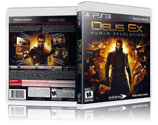 Deus Ex: Human evolution Replacement  PS3 Cover and Case. NO GAME!!