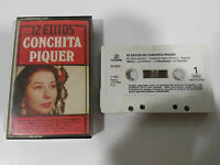 Conchita Piquer 12 exitos Cinta Tape Cassette Columbia 1983 Spanish Edit