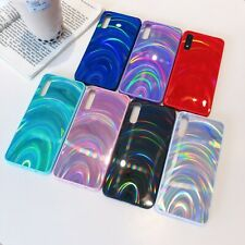 For Samsung Galaxy S20/A51/A71 4G/A01/A21s/A11 Bling Glossy Hard Back Case Cover