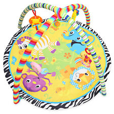 Baby Soft Play Mat Cartoon Animal Gym Fitness Blanket with Frame Toy