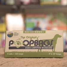 Dr Mercola Healthy Pets The Original PoopBags for Dog Poo (9 Rolls): 1 Box