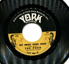 "THE POOR    ""MY MIND GOES HIGH / KNOWING YOU LOVING YOU""     7"" US SINGLE"