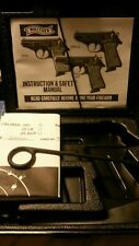 WALTHER INTERARMS PPK/S 380 FACTORY BOX CASE & MANUAL & TARGET