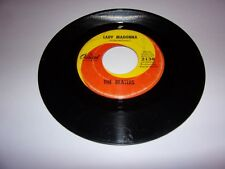 The Beatles: Lady Madonna / The Inner Light / 1968 / 45 Rpm / VG / Capitol 2138