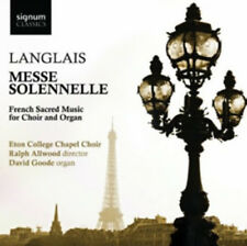 Eton College Chapel Choir : Langlais: Messe Solennelle: French Sacred Music for