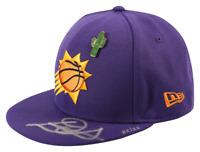 DEANDRE AYTON Autographed Phoenix Suns New Era 2018 Draft Day Cap STEINER LE 22