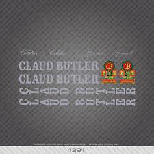 01391 Claud Butler Colstar Bicycle Stickers - Decals - Transfers - Silver