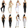 Adult Women's Stretchy Tank Unitard Yoga Dance Leotard Bodysuit Catsuit Jumpsuit