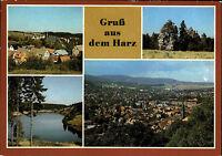 DDR Mehrbild-AK Gruss aus dem Harz Kreis Wernigerode ua. Rappbode, Trautenstein