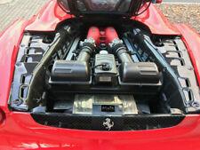 real carbon fiber engine compartment trim covers FOR  FERRARI F430 SPYDER CABRIO