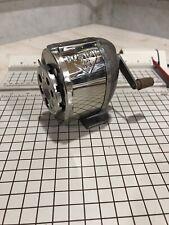 Boston KS 8-Hole Revolving Pencil Sharpener VINTAGE Desk Top or Wall Mount