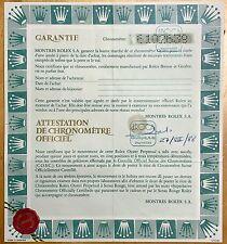 Rolex Certificate Submariner 5513 16800 GMT 1675 Sea Dweller 1665 1655 1016 1019
