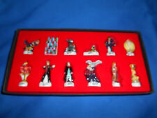 HARRY POTTER Goblet Fire DISPLAY Set 10 French Figurines Porcelain FEVES Figures