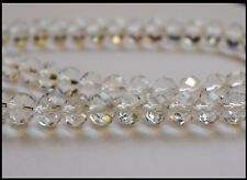 12mm x 9mm Rondelle CLEAR 30 oval beads A-Grade Crystal faceted Suncatcher