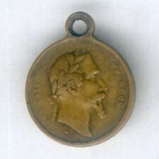 FRANCE. Miniature Medal for Victory at Solferino, 1859