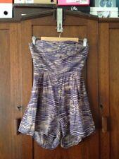 Zimmermann Strapless Jumpsuit/Romper Women's Size 1 Or 8