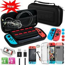 Переключатель для Nintendo футляр для хранения сумка + защитная пленка + чехол аксессуары