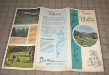 "1967 LAKE MOHONK MOUNTAIN HOUSE New Paltz, NY ""Summer"" Fold-Out Brochure"