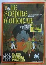 Puzzle Tintin et le Sceptre d'Ottokar, Hemma, 1983 - Cavahel Vintage