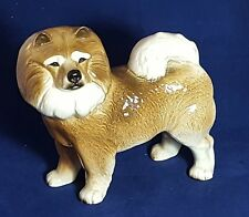 Beautiful Porcelain Dog Figure by Cooper Craft: Height: 19 cm and Width is 20 cm