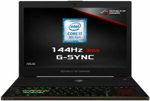 ASUS ROG ZEPHYRUS GX501GI-EI005T, 144Hz FHD G-SYNC, i7-8750H, 16GB DDR4...