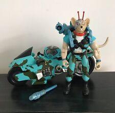 Biker Mice From Mars Rad Rebel Vinnie & Rebel Rocket Cycle 1994