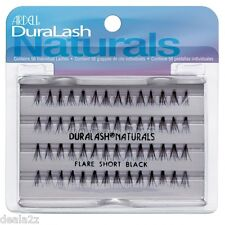 4 x 65050 SHORT BLACK  Ardell Duralash Naturals Short Faux Eyelashes 4 PACKS
