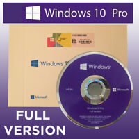 Microsoft Windows 10 PRO PROFESSIONAL 64Bit OEM FULL VERSION with activation key