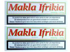 Makla ® ifrikia-Chewing Tobacco-mascar tabaco - 2, barra de 2 x 10 x 20 G de lata de metal