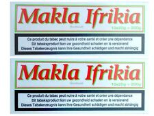 Makla® Ifrikia - Chewing Tobacco - Kautabak - 2 Stange 2 x 10 x 20 g Metalldose