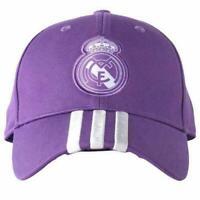 REAL MADRID FC Adidas Baseball Cap Hat Purple