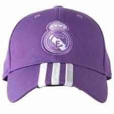 REAL MADRID FC Adidas Baseball Football Cap Hat Purple