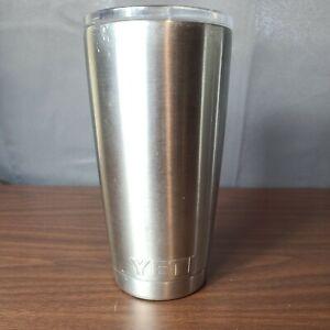 Yeti Rambler Tumbler Stainless Steel Travel Mug 16 oz w/ lid