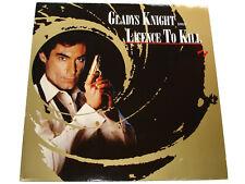 Gladys Knight sings LICENCE TO KILL James Bond 007 M. Kamen 12 Inch Maxi Single
